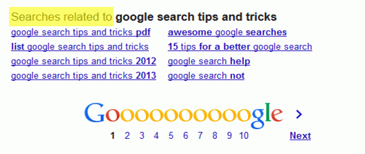 How to — 11 Tricks to improve your Internet Search (Google